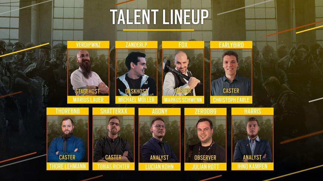 Das Talent Lineup des Clash of Nations hat es in sich.