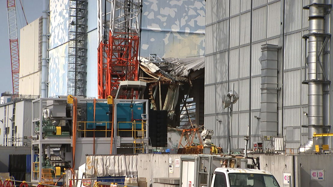 Fukushima nuclear plant damage