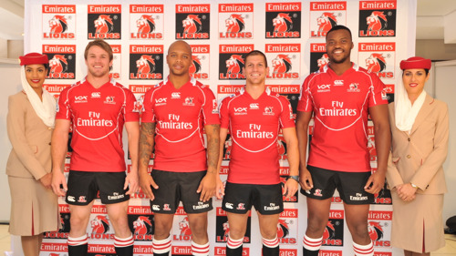 Emirates Becomes Lions New Title Sponsor