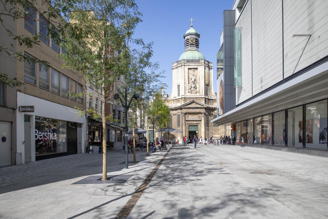 Ville de Bruxelles : Inauguration festive du réaménagement de la rue Neuve et de ses abords