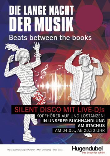 """""""Silent Disco"""" am Stachus: Hugendubel lädt zur langen Nacht der Musik"""