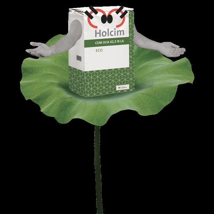 Le ciment Eco de Holcim désormais disponible en sacs