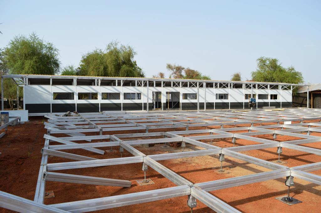 In Doro, South Sudan, MSF has just finished building a new 1,000-m2 health facility that will provide a 50-bed maternity ward, an obstetric unit and a neonatal intensive care unit. © Carlos Cortez Henriquez/MSF