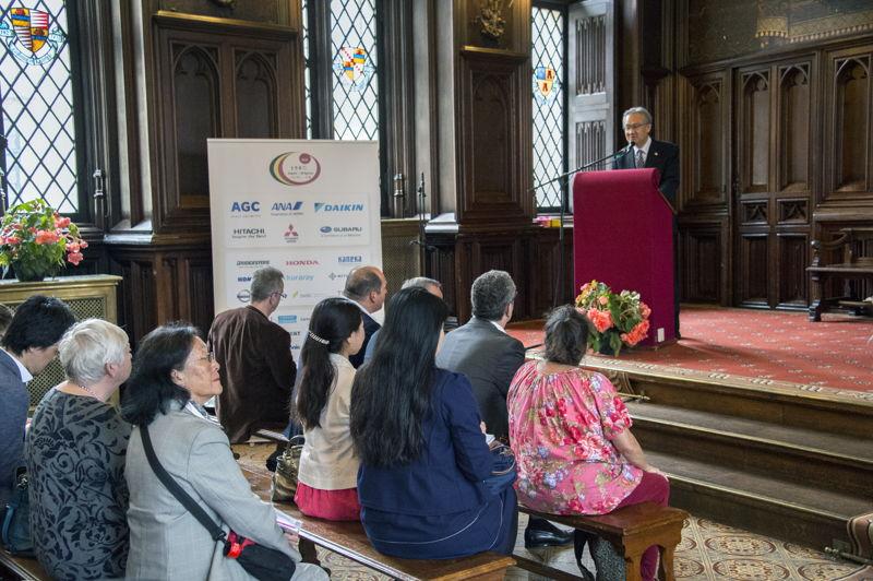 ©Wim Vanmaele - Ambassador of Japan to Belgium Masafumi Ishii