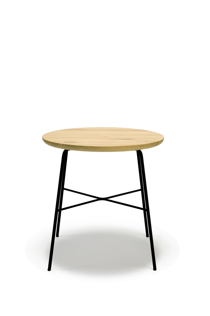 Ethnicraft Oak Disc side table_round