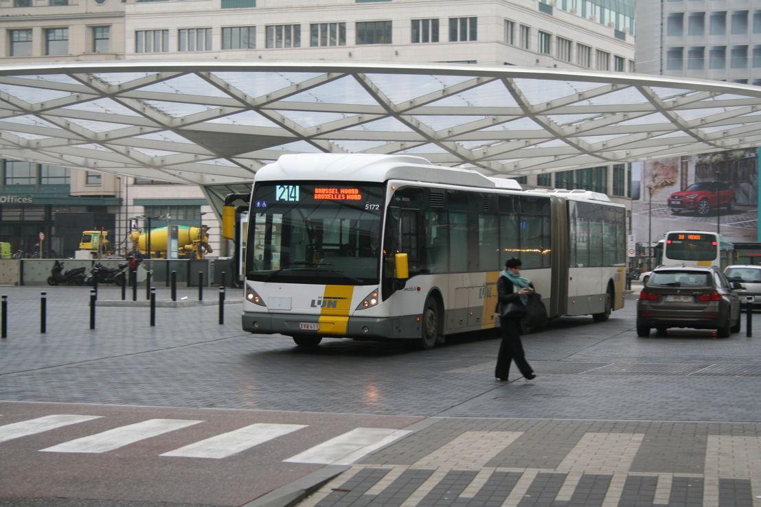 Vanaf 26 november 2018 verschuift de vertrekhalte van Brussel Noord naar het Rogierplein.