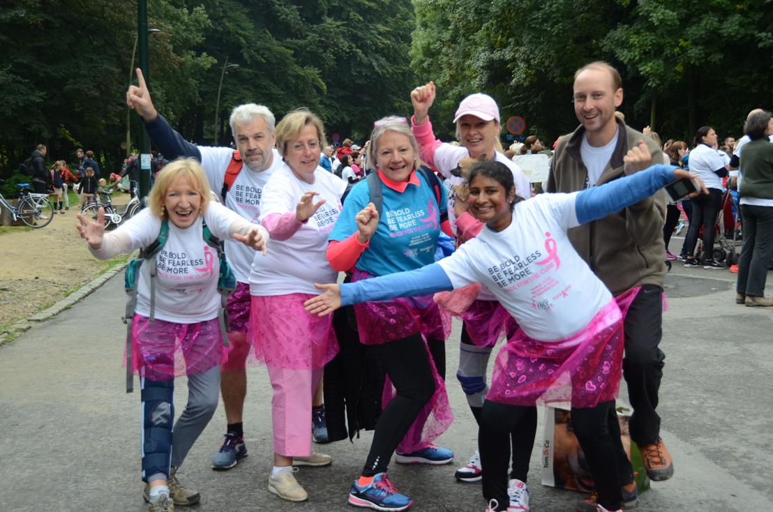 Un record pour cette édition de la Race for the Cure Brussels : Un signal fort dans la lutte contre le cancer du sein
