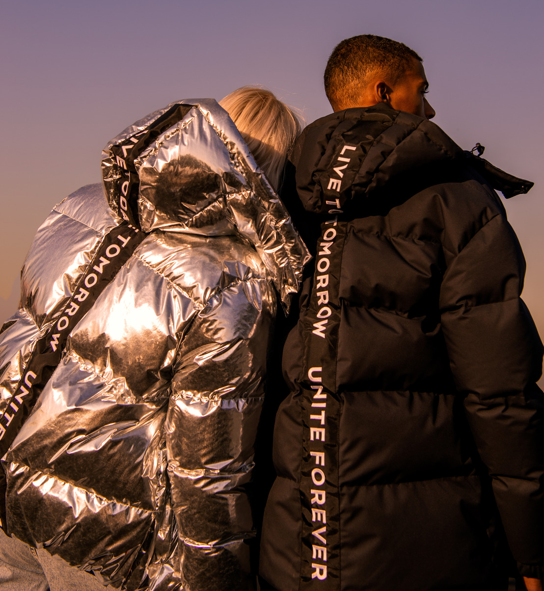 Stand out from the crowd and stay warm during the cold season with the exclusive Tomorrowland Puffer Jackets