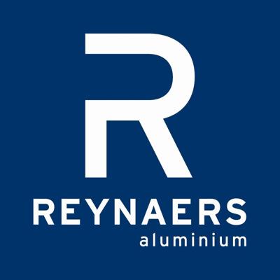 Reynaers Aluminium perskamer Logo