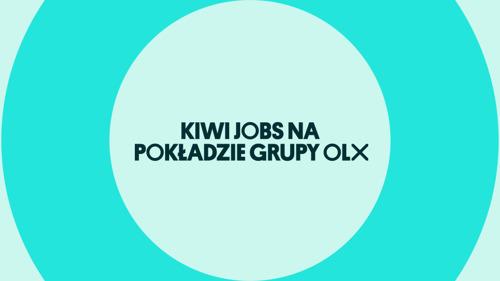Kiwi Jobs na pokładzie Grupy OLX