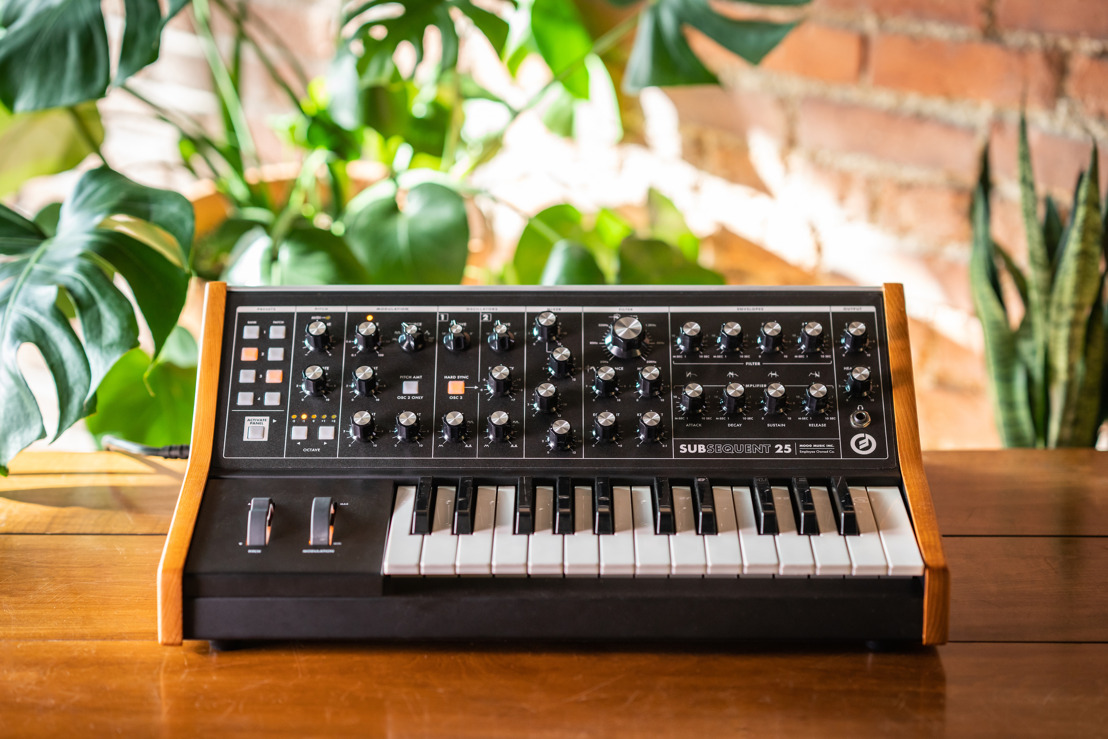 Moog Introduces Subsequent 25