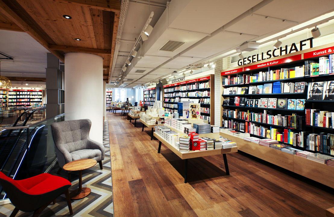 Das entwickelte Konzept setzt neue Maßstäbe sowie ein Zeichen für den modernen Buchhandel; (c) Schwitzke