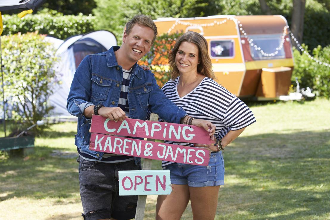 Karen en James openen morgen het nieuwe seizoen van VIER...