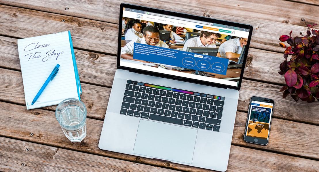 New Close the Gap website with Design is Dead bridges the digital divide