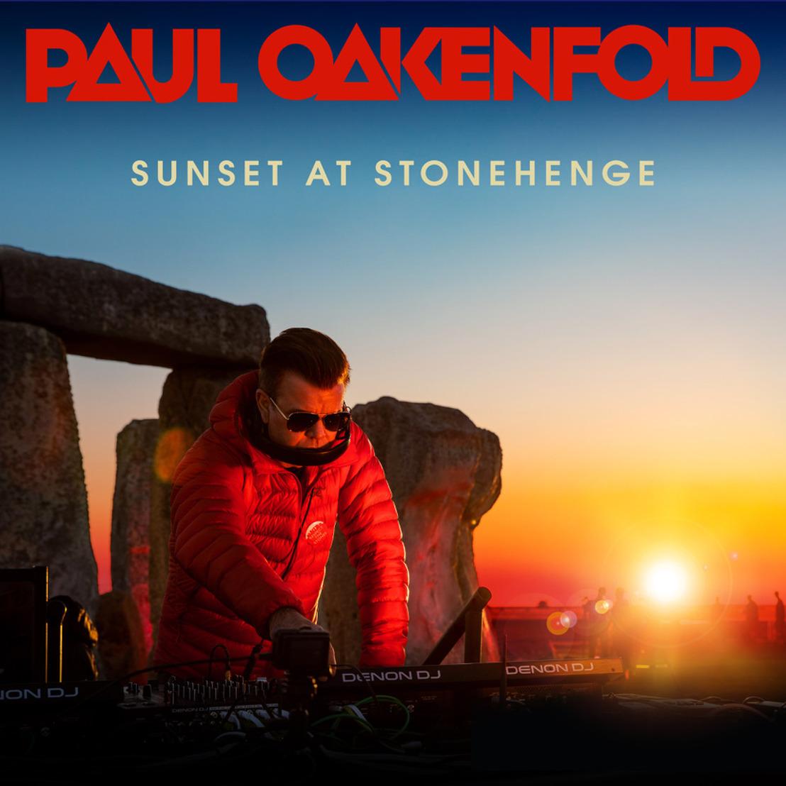 Paul Oakenfold Releases Sunset at Stonehenge Album
