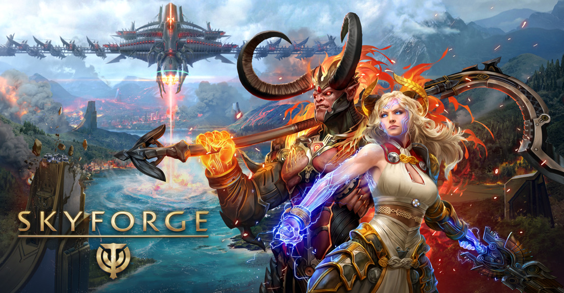 Skyforge Now Available For Nintendo Switch!