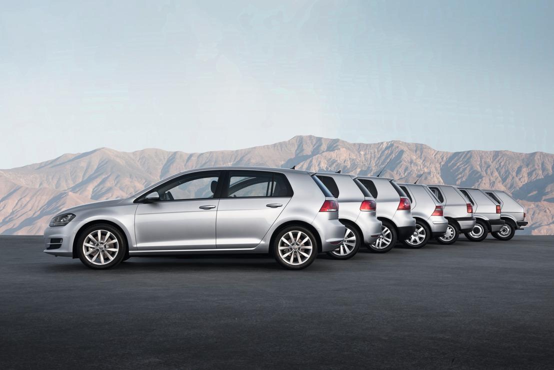 Volkswagen celebra 45 años del Golf