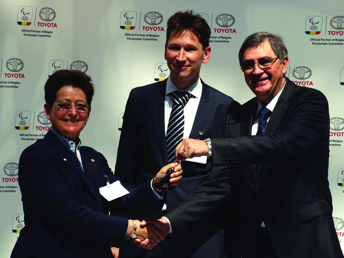Toyota wordt partner van het Belgisch Paralympisch Committee