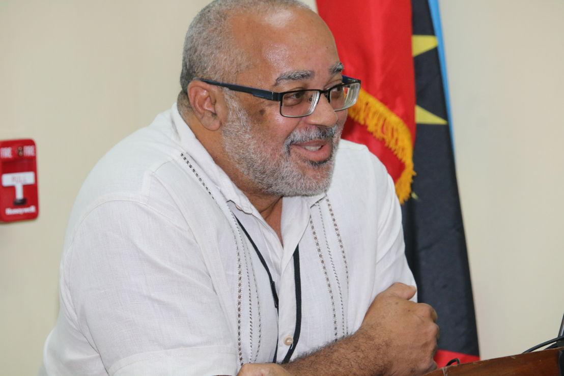 Dr. Didacus Jules, Directeur Général de la Commission de l'O.E.C.O,