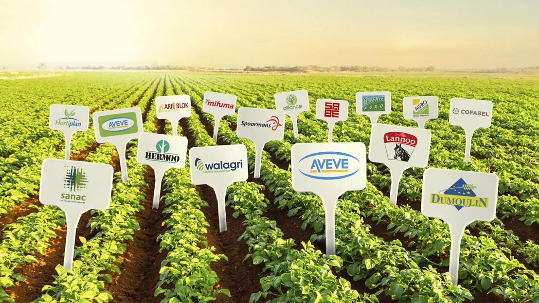 There et le groupe AVEVE conjuguent leurs forces pour procéder à une nouvelle récolte agricole et horticole belge.