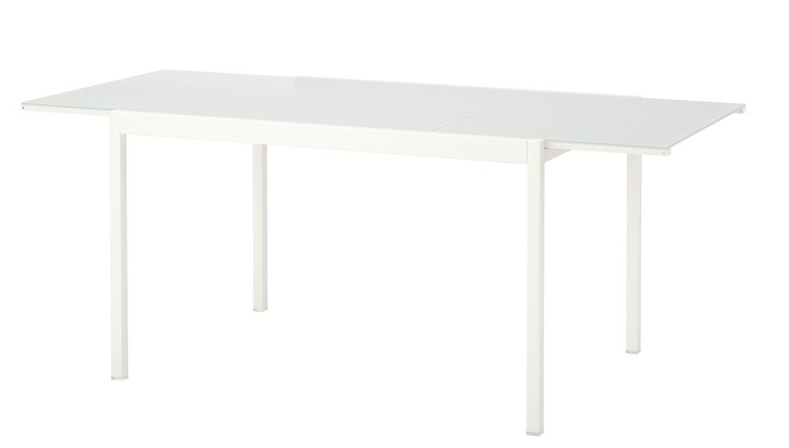 IKEA rappelle la table extensible GLIVARP en raison d'un risque de chute de la rallonge