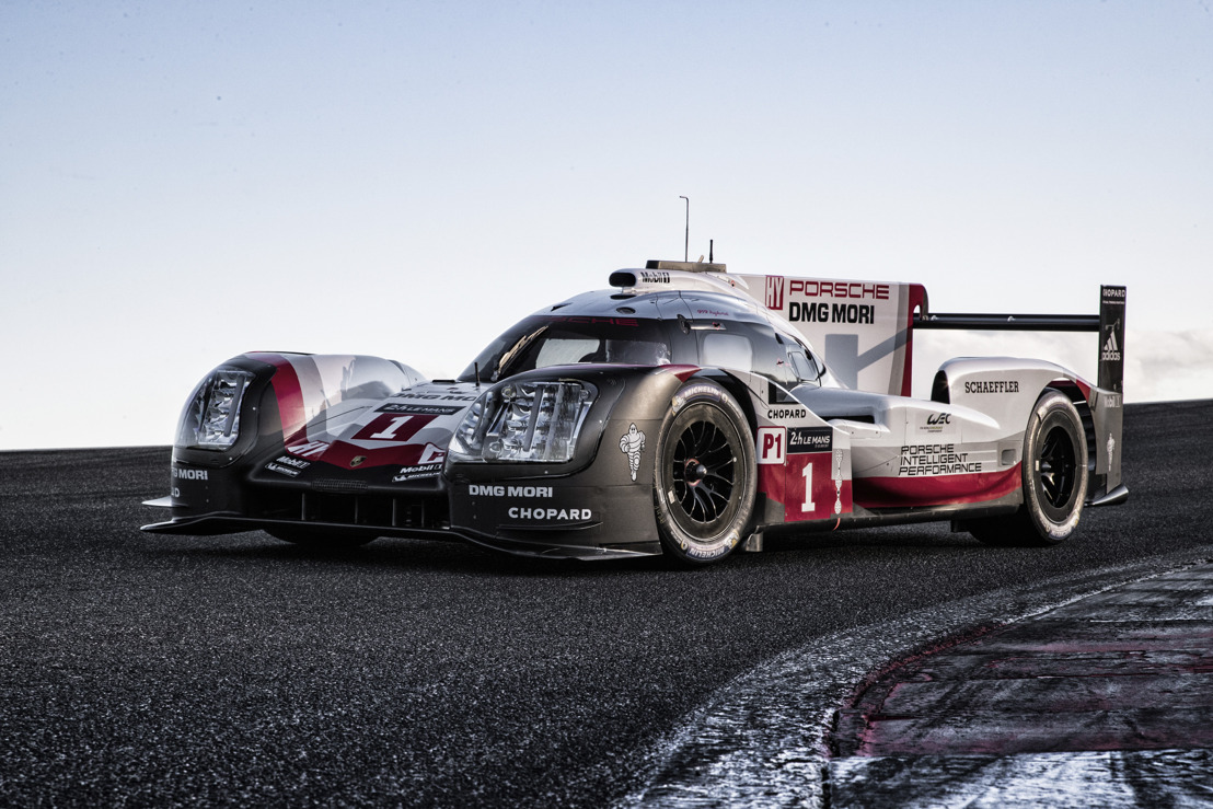 The new Porsche 919 Hybrid for the 2017 FIA World Endurance Championship