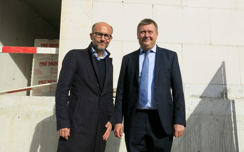 Jurgen Van Bogaert (Cores Development) & Marc Van der Linden (Burgemeester Duffel)