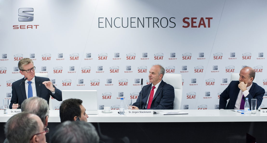 SEAT Executive Vice-President for R&D Dr. Matthias Rabe has outlined the challenges facing the automotive industry over the next few years -