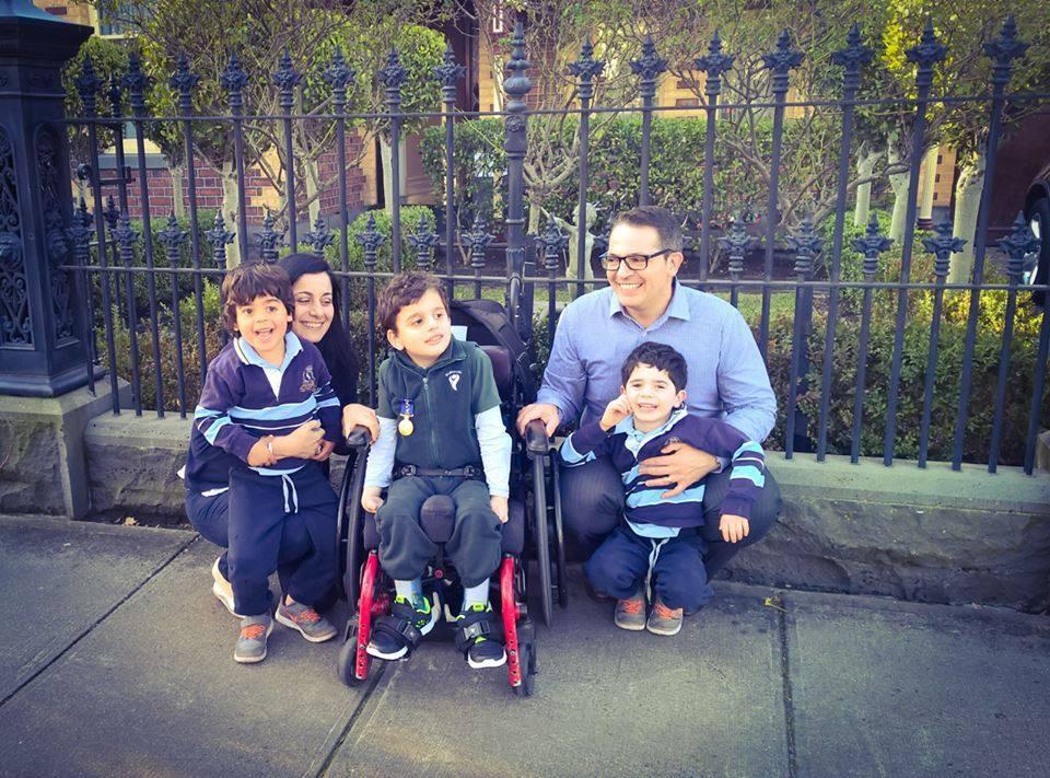 Massimo and his family