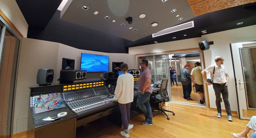 Concordia University Irvine's New WSDG-Designed Recording Studio Teaching Complex