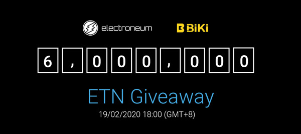 Preview: Electroneum partners with BiKi, a top 20 cryptocurrency exchange; both are two of the fastest-growing crypto projects in existence