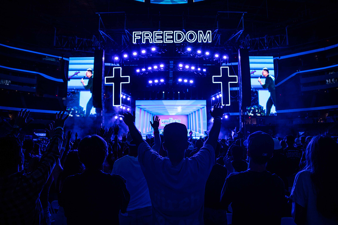 The Freedom Experience, Featuring Top Worship Artists, Mixed on Solid State Logic Live L550 Console
