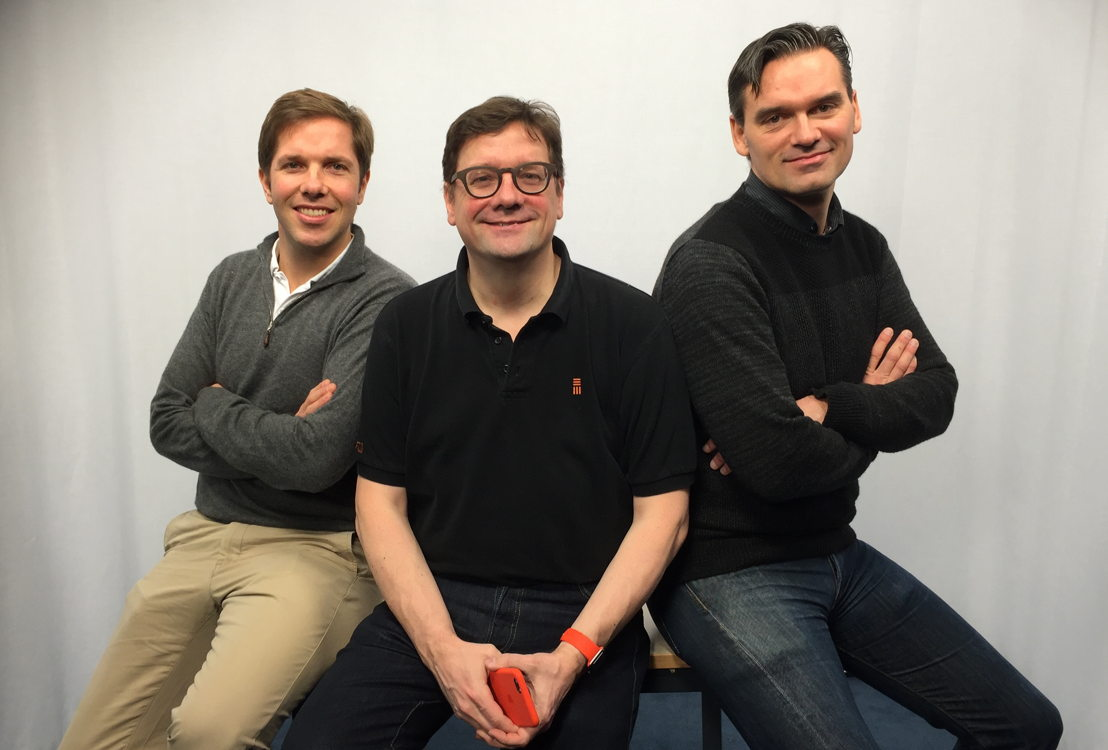 David Bredael, Brice Le Blévennec and Pierre Pôlet start 2016 in new management roles at Emakina.