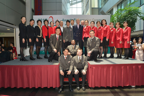 Cathay Pacific Group staff show true spirit of service excellence