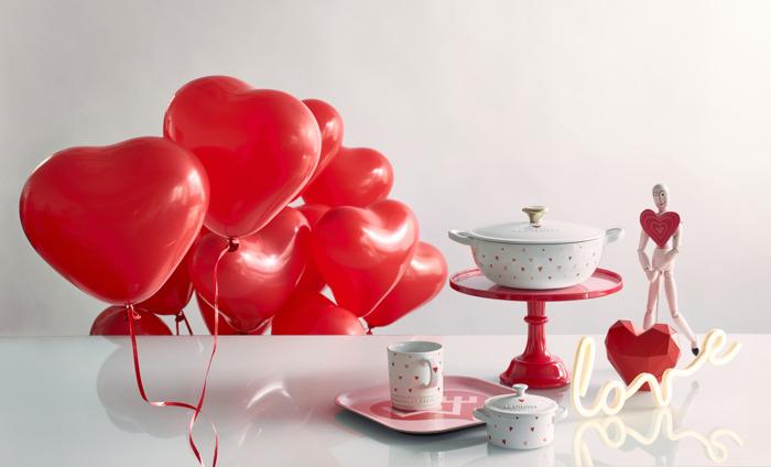 Le Creuset introduceert de Limited Edition Heart Collection
