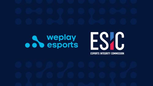 Медиахолдинг WePlay Esports официально вступил в Esports Integrity Commission