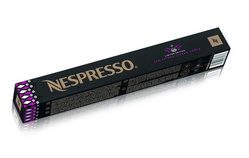 Nespresso Variations - Linzertorte