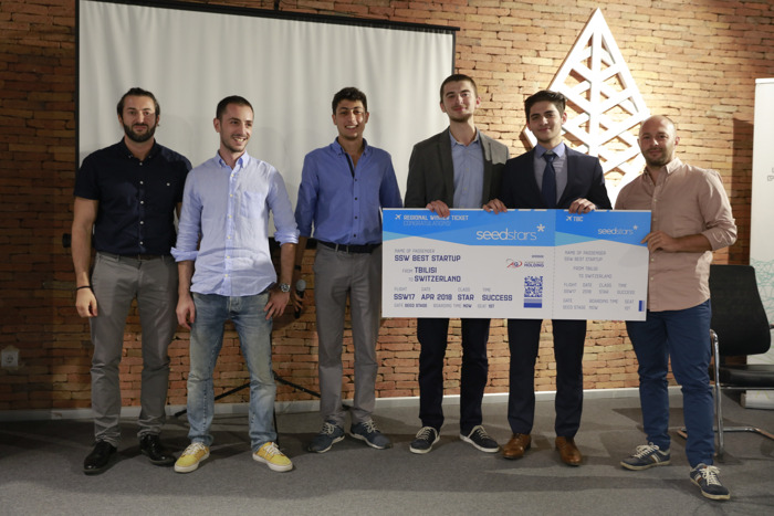 REHABGLOVE NAMED GEORGIA'S MOST PROMISING STARTUP AT SEEDSTARS TBILISI