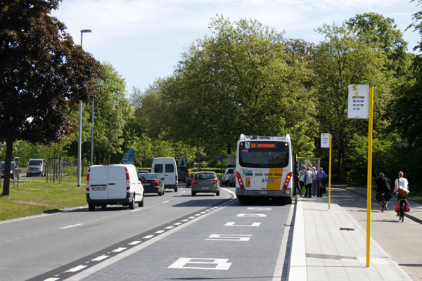 Alle bussen rijden zondag over de Leuvense buitenring