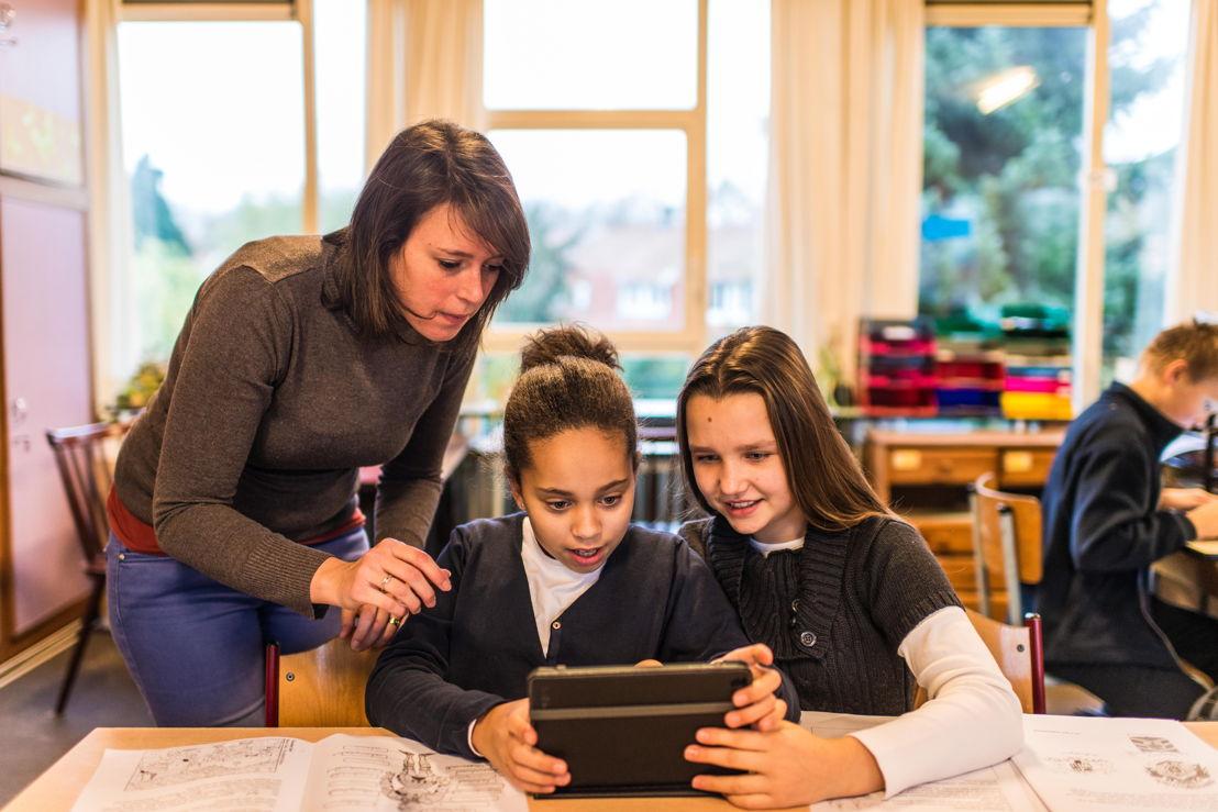 Ecole primaire Mariagaarde à Borgerhout - photographe Dries Luyten 2
