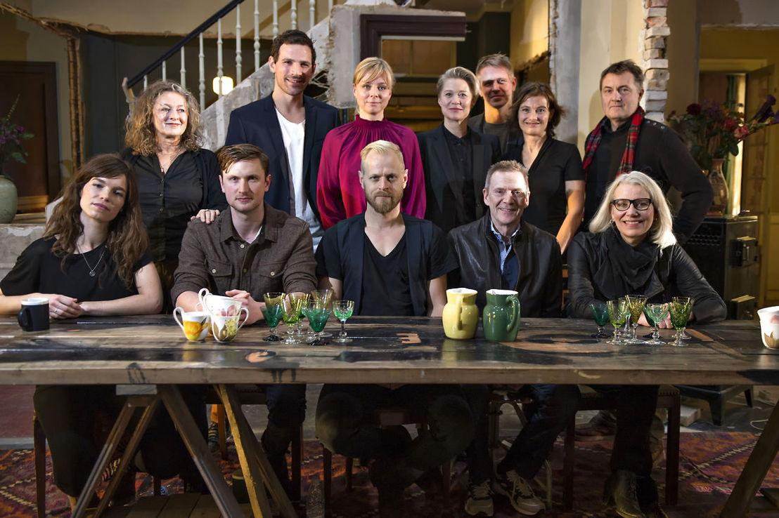 De familie Grønnegaard - (c) VRT / Lumière