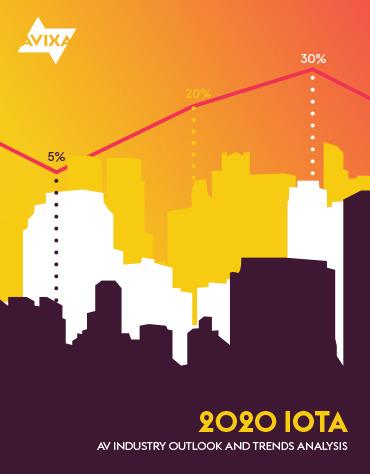 ¿Cuál es el estado actual y el futuro económico de la industria profesional audiovisual en EMEA? El reporte IOTA 2020, preparado por AVIXA, presenta un panorama general de la región.