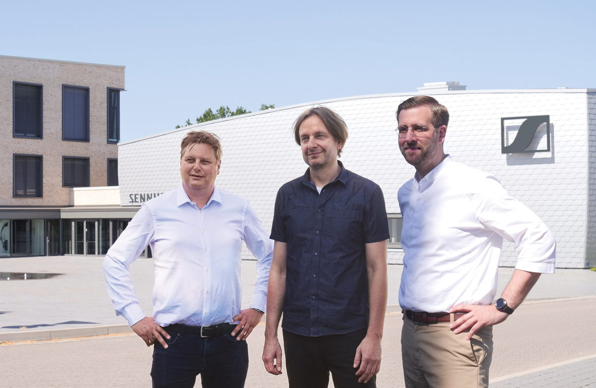 The CEOs of Dear Reality GmbH (from left to right): Uwe Cremering, Achim Fell and Christian Sander