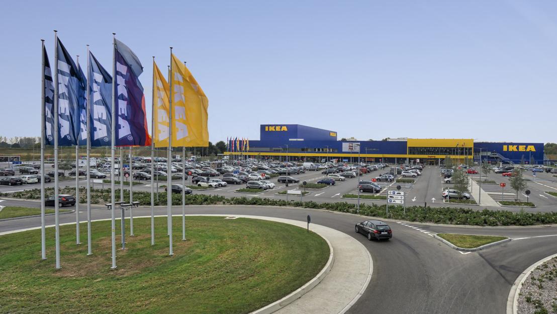 Ingka Group kondigt aan dat de IKEA retailverkoop is gestegen met 4,70 %