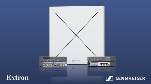 Sennheiser and Extron partner for seamless conferencing solutions