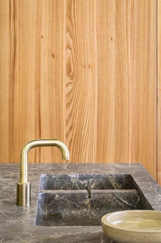 Michaël Verheyden, Koen Roux and Bart America design utilitarian luxury kitchen