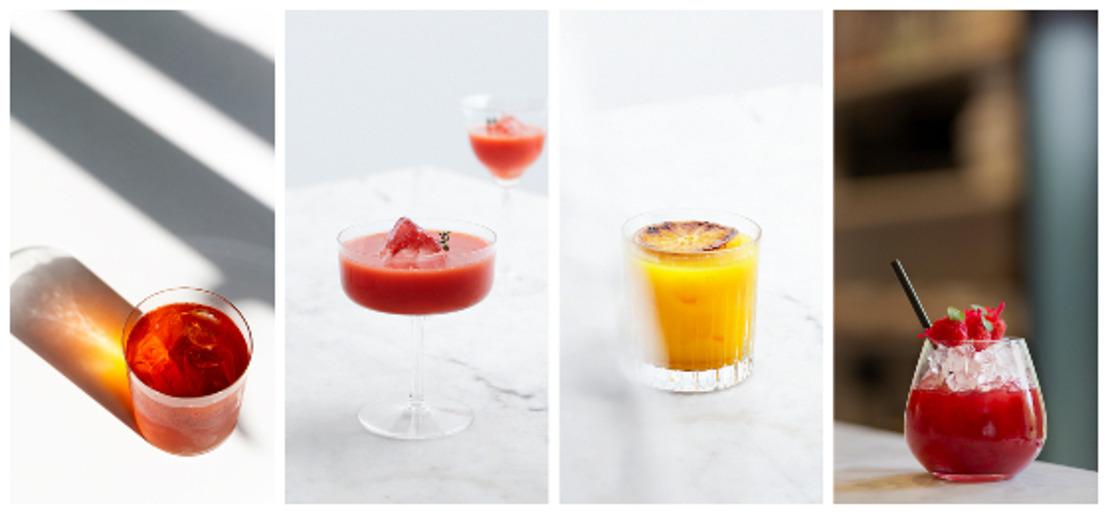 4 délicieux mocktails à l'eau du robinet