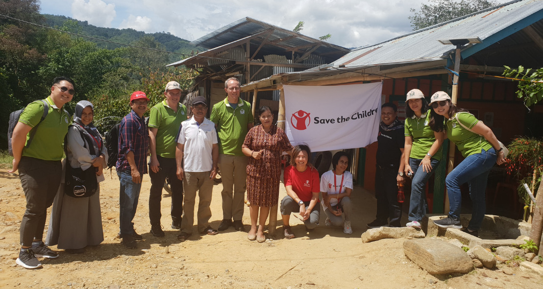 Rebuilding Lives with Save the Children