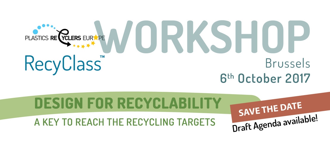 INVITATION: Design for Recyclability Workshop - 6 Oct. 2017