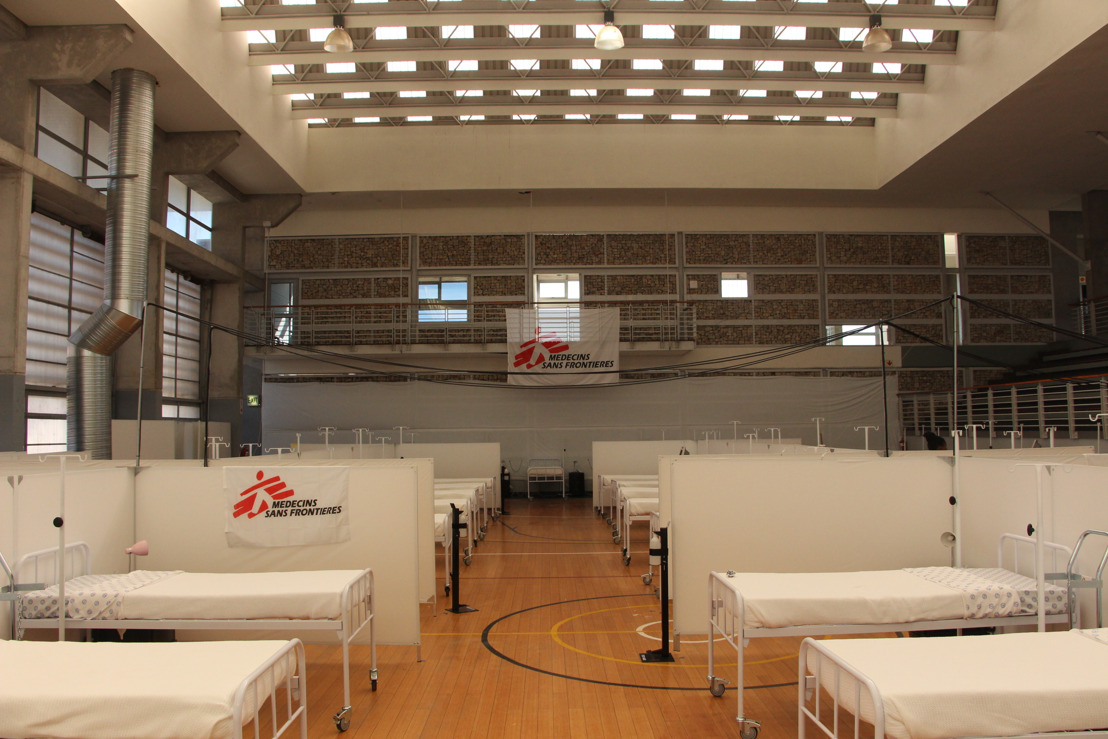 MSF Opens Khayelitsha Field Hospital as South Africa Braces for COVID-19